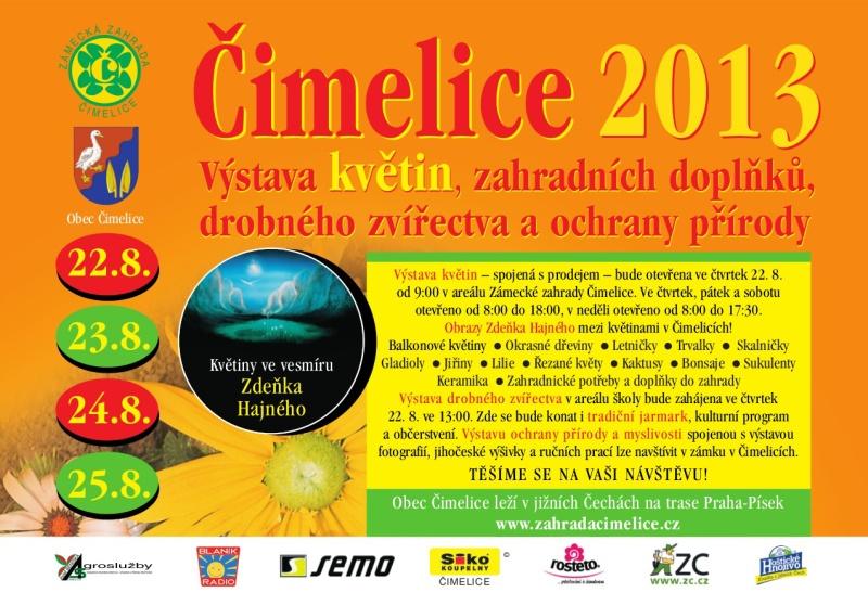Výstava květin 2013 Čimelice